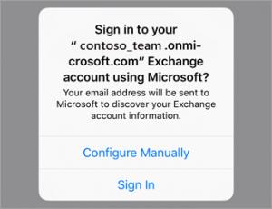 office 365 on ios app