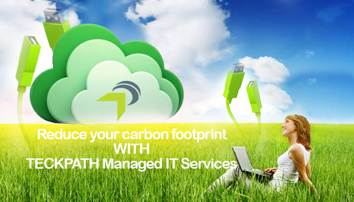 Cloud Computing Helps Reduce Carbon Footprint